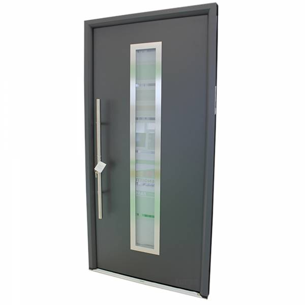 Hörmann Haustür RenoDoor Titan Metallic DIN LINKS
