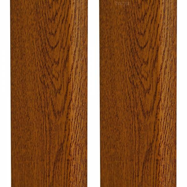 Hörmann Set Zargenverkleidung für Sektionaltore, DecoColor in Golden Oak 90 mm