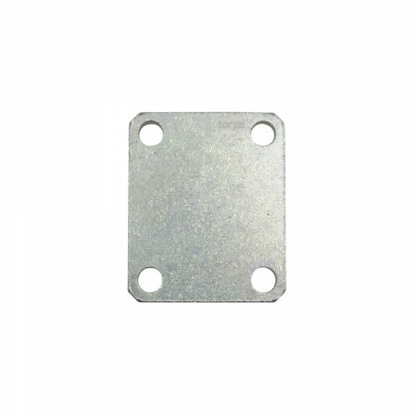 Hörmann Pfeiler-Konterplatte, Stahl verzinkt, ohne Gewindestangen