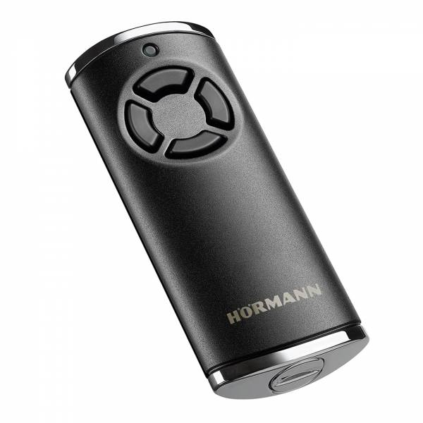 Hörmann Handsender HS 4, BiSecur, Struktur schwarz