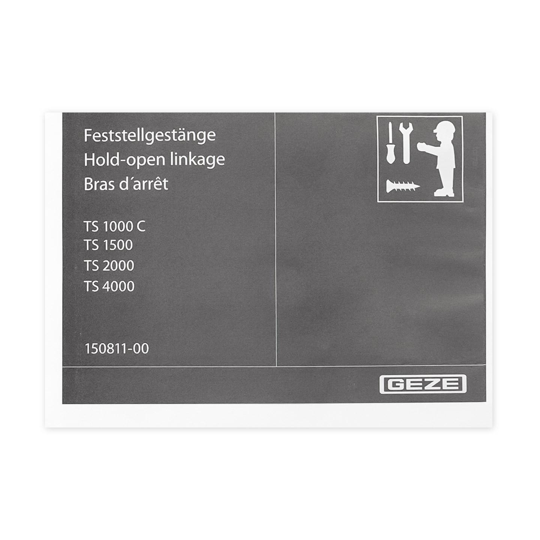 Feststellgest/änge in braun f/ür TS 2000//4000