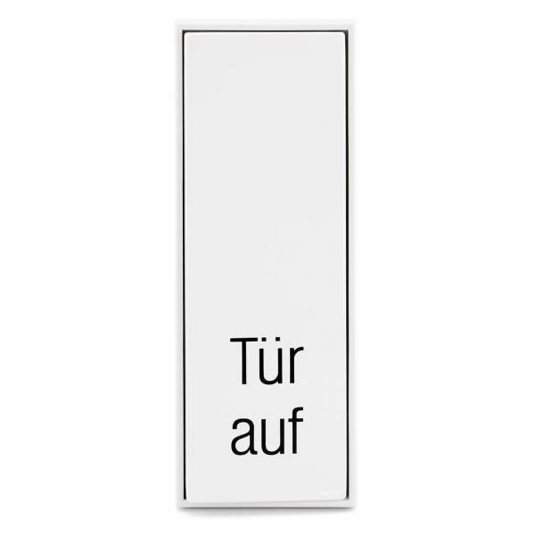 """Hörmann Großflächentaster """"Tür Auf"""", weiß"""