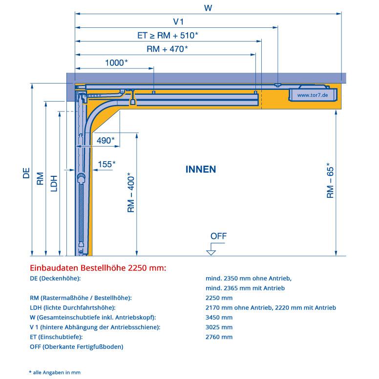 hoermann-sektionaltor-bestellhoehe-2250mm-z-beschlag-einbaudaten_1_1