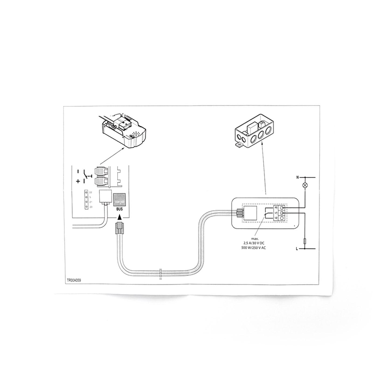 Optionsrelais wie Hörmann HOR1 für Supramatic Antrieb HOR 1 Garagentorantrieb