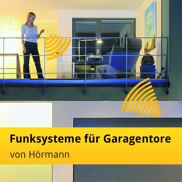 die funksysteme f r garagentore von h rmann news tor7. Black Bedroom Furniture Sets. Home Design Ideas