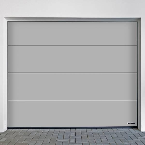 Hörmann Garagentor 2315 x 2080 mm mit oder ohne Torantrieb,  Oberfläche Planar (glatt), Weißaluminium (CH 9006)