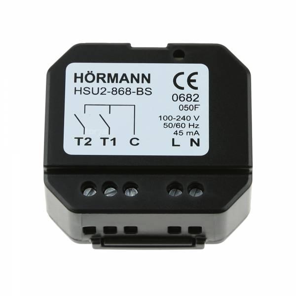 Hörmann 2-Kanal-Funk-Unterputzsender HSU 2, BiSecur