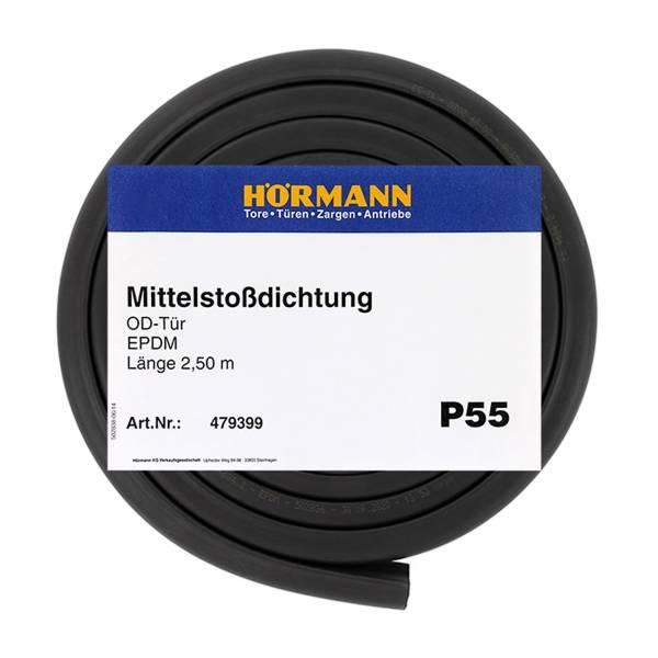 Hörmann Dichtung Mittelstoß P55, 2500 mm, Herstellerangaben