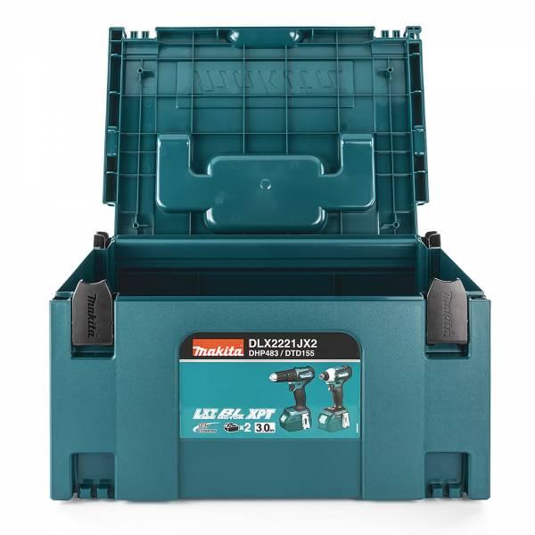 Makita MAKPAC Werkzeugkoffer Größe 3, 821551-8
