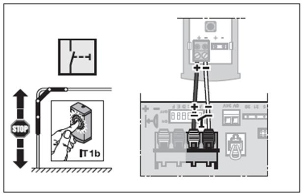 Super Wie kann man den Innentaster IT 1b am ProMatic Serie 3 anschließen VL14
