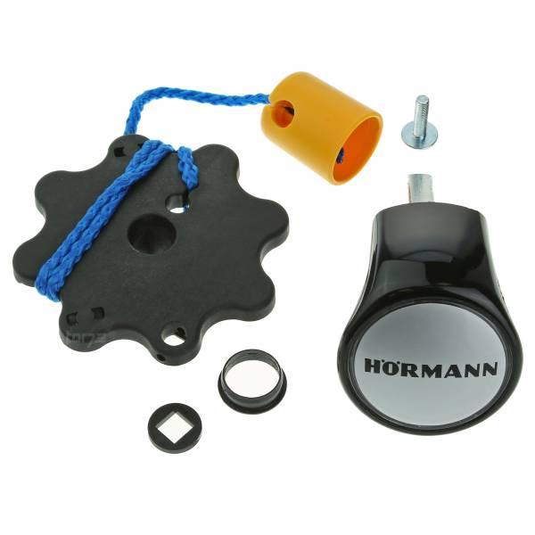Hörmann Torgriffgarnitur, Kunststoff schwarz, für Schwingtore