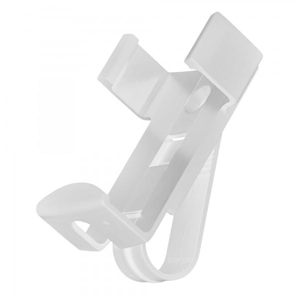 Hörmann Handsenderhalterung mit Sonnenblendenclip, weiß, für HSM 4 io