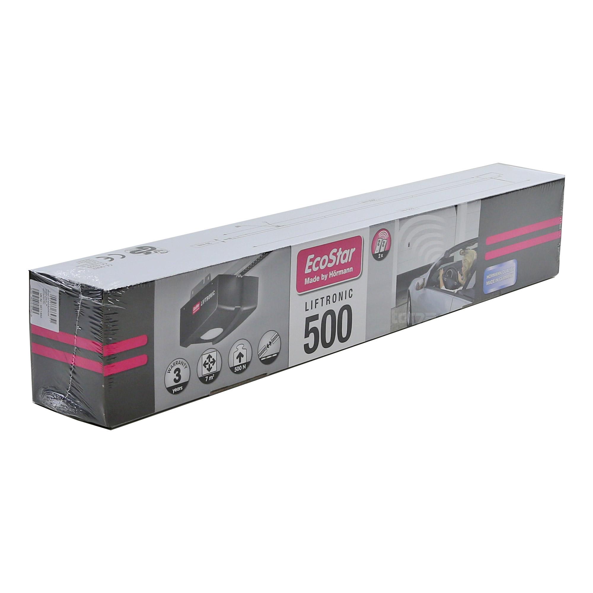 Hormann Ecostar Liftronic 500 Garagentorantrieb Mit Schiene