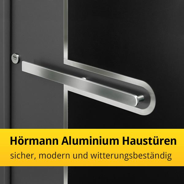 h rmann aluminium haust ren sicher modern und witterungsbest ndig news tor7. Black Bedroom Furniture Sets. Home Design Ideas