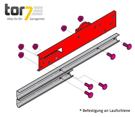 hoermann-auslegerplatte-beschlag-l-ausfuehrung-links-Baureihe-30-montageabbildung