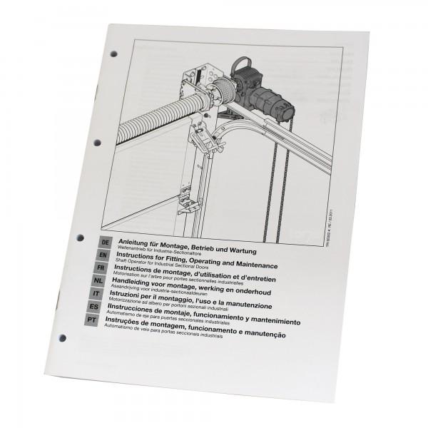 Hörmann Einbauanleitung Industrietorantrieb WA 400