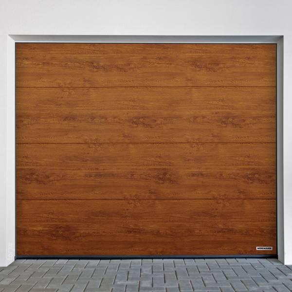 Hörmann Garagentor 2315 x 2080 mm mit oder ohne Torantrieb,  Oberfläche DecoColor, Golden Oak