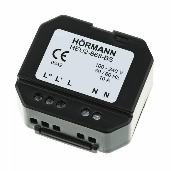 Hörmann 2-Kanal-Empfänger-Unterputz HEU 2 BiSecur