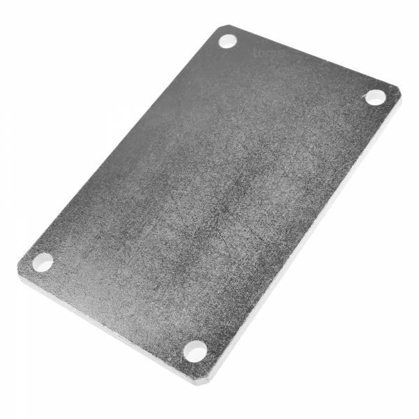 Hörmann Pfeiler-Mauerplatte PM 1, Stahl verzinkt, für RotaMatic