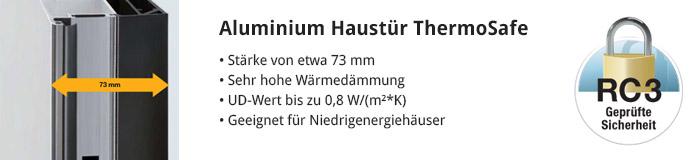 Aluminium Haustür ThermoSafe