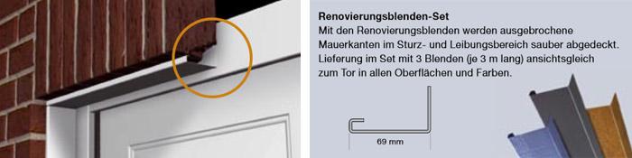 Renovierungsblenden-Set