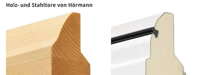 Holz- und Stahltore von Hörmann