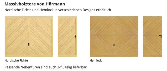 Massivholztore von Hörmann