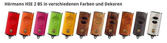 Hörmann HSE 2 BS in verschiedenen Farben und Dekoren