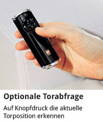Optionale Torabfrage