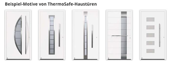 Beispiel-Motive von ThermoSafe-Haustüren