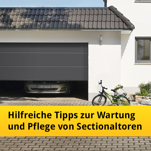 hilfreiche tipps zur wartung und pflege von h rmann sectionaltoren news tor7. Black Bedroom Furniture Sets. Home Design Ideas