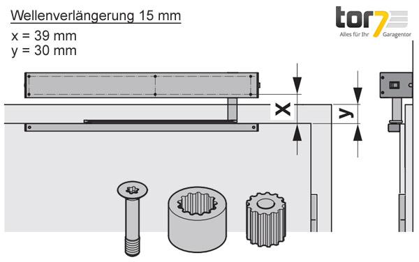 hoermann-wellenverlaengerung-15mm-portamatic-detailansicht