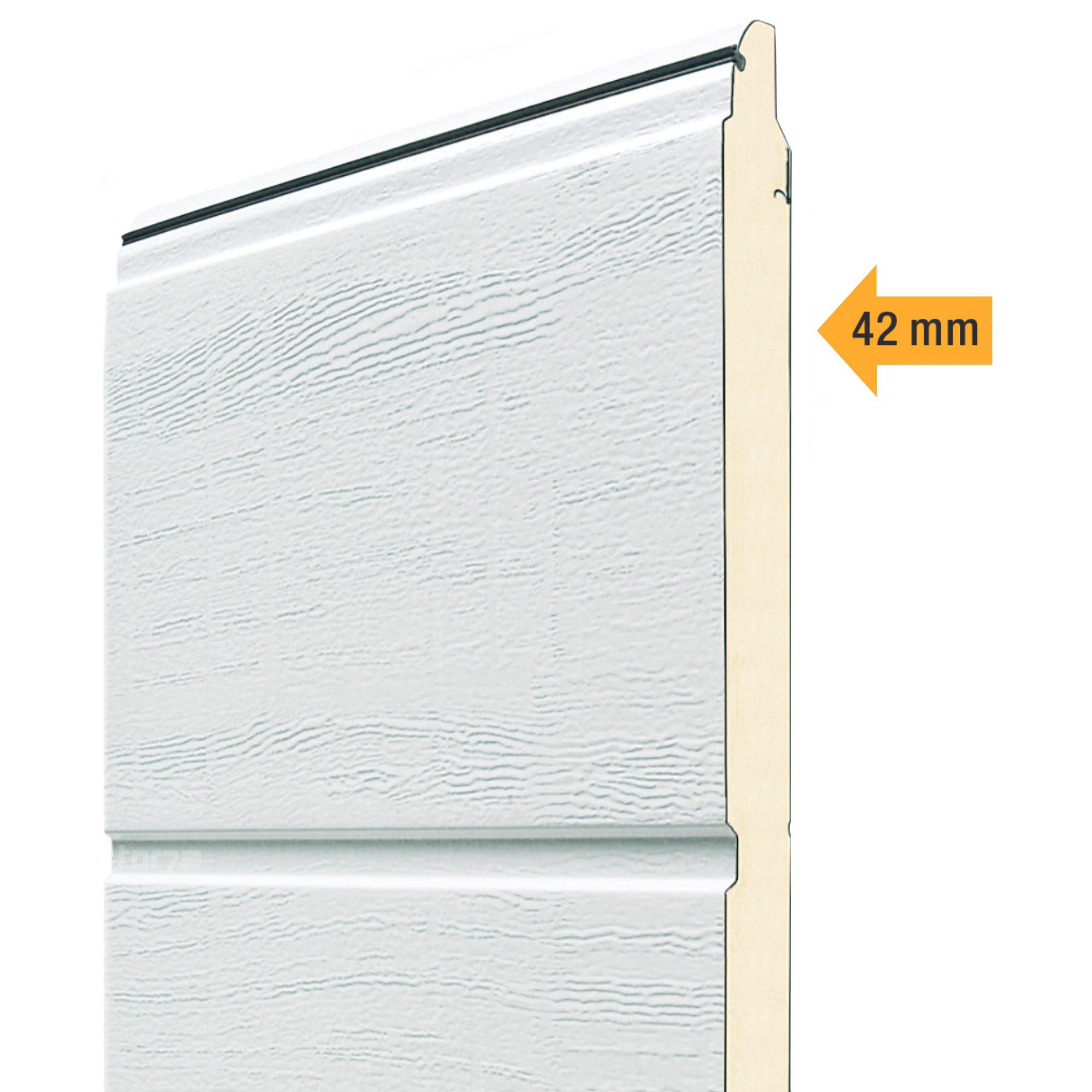 Garagentor hörmann braun  Hörmann Sektionaltor 5000 x 2250 mm inkl. Garagentorantrieb