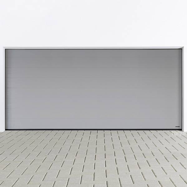 Hörmann Sektionaltor 5000 x 2125 mm inkl. Garagentorantrieb in RAL9006