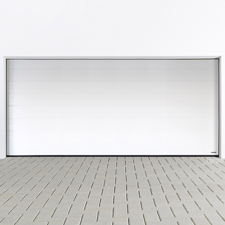 h rmann sektionaltor 5000 x 2125 mm inkl garagentorantrieb. Black Bedroom Furniture Sets. Home Design Ideas