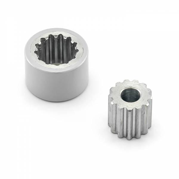 Hörmann Wellenverlängerung 15 mm  PortaMatic, silber