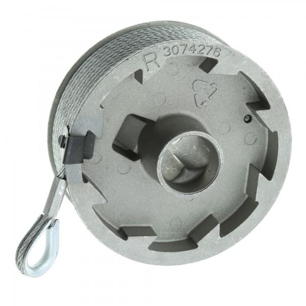 Hörmann Seiltrommel, Beschlag N, L, rechts, bis 2250 mm Torhöhe
