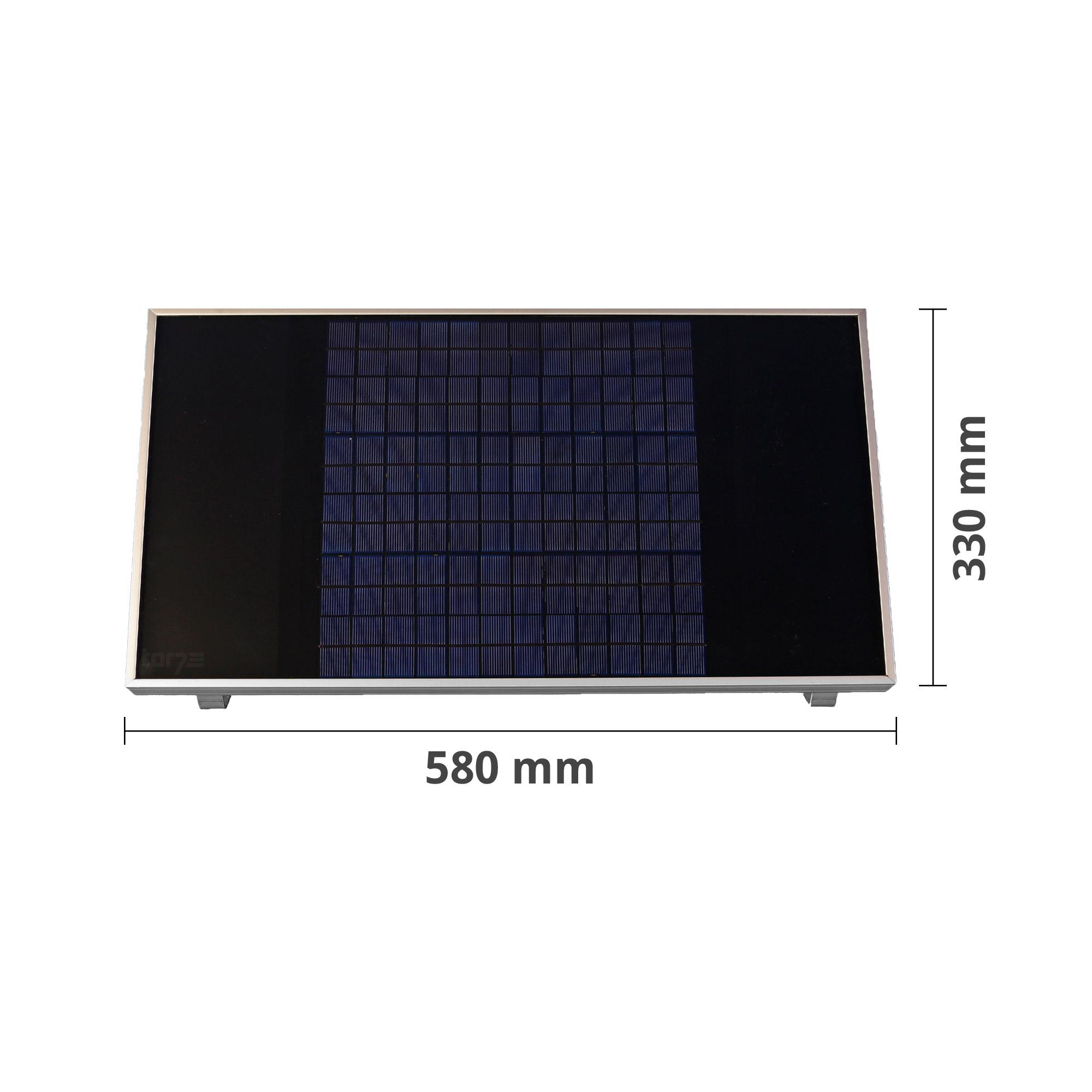 h rmann solar modul sm 1 1 f r promatic akku. Black Bedroom Furniture Sets. Home Design Ideas