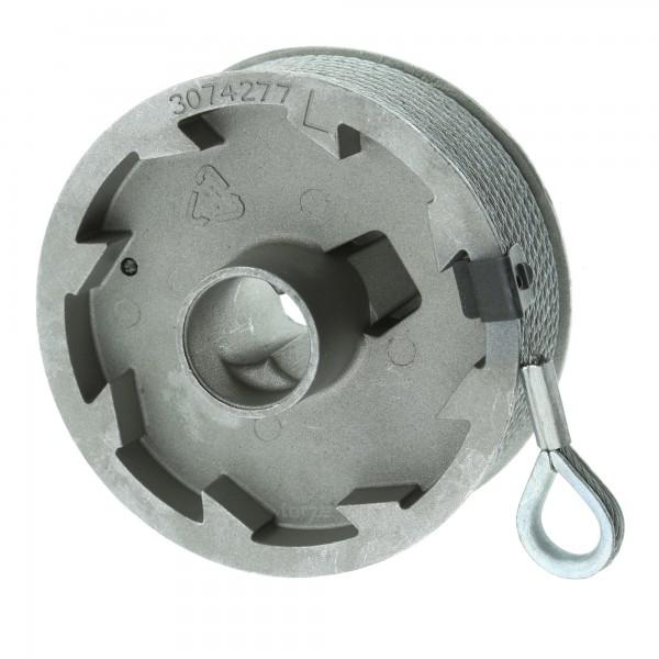 Hörmann Seiltrommel, Beschlag N, L, links, bis 2250 mm Torhöhe