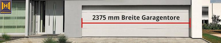 Hörmann 2375mm breite Garagentore