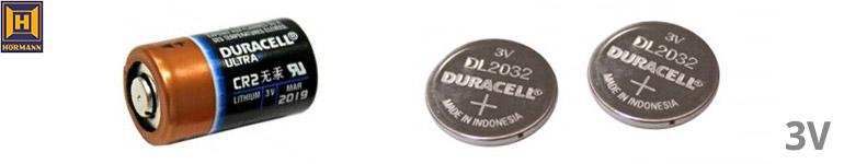 Hörmann 3,0 Volt Batterien