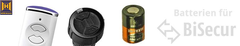 Hörmann Handsender BiSecur Batterien