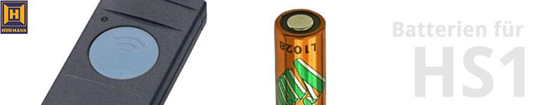 Hörmann Handsender HS1 Batterien