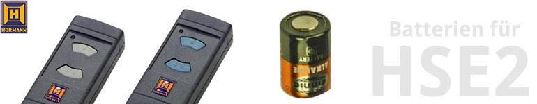 Hörmann Handsender HSE2 Batterien