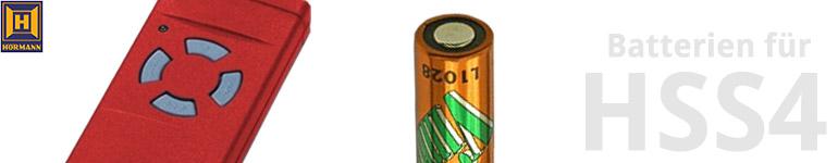 Hörmann Handsender HSS4 Batterien