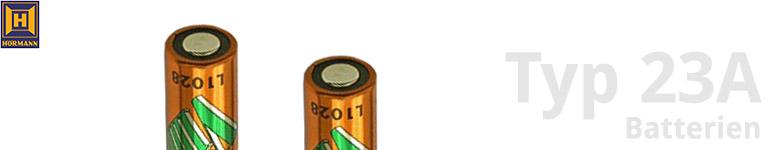 Hörmann Typ 23A Batterien