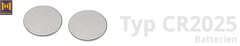 Hörmann Typ CR2025 Batterien
