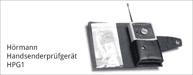 Hörmann Handsenderprüfgerät HPG1